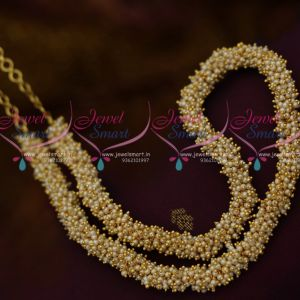 Latest Fancy Pearl Jalar Tar Beads Chain Necklace Fashion Jewellery Collections Online