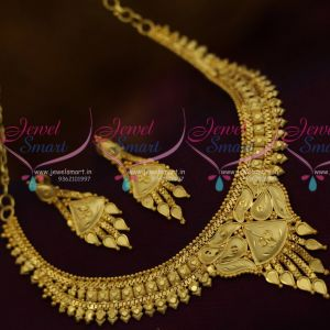 Simple Casting Design Low Price Fashion Jewellery Short NecklaceDesigns Shop Online