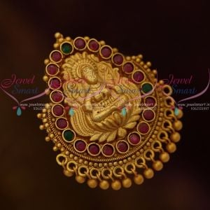 Antique Matte Gold Plated Handmade Nagas Saree Pins South Temple Jewellery Online