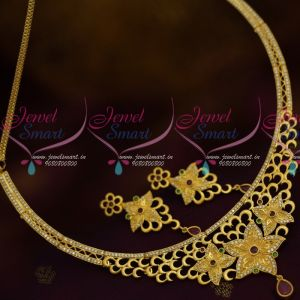 One Gram Gold Forming AD Fashion Jewellery Real Look Collections Online