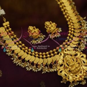 Temple Jewellery One Gram Gold Designs Traditional South Indian Kasulaperu Online