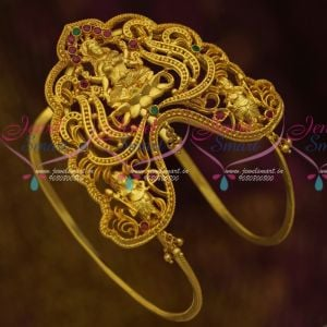 One Gram Gold Temple Jewellery Broad Baju Band Vanki South Indian Traditional Collections Online