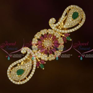 AD Dazzling Imitation Jewellery Mango Centre Hair Clip Women's Matching Accessory Buy Online