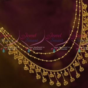Bahubaali Movie Devasena Style Hair Decoration Chains Jhumka Drops Gold Plated Jewellery Shop Online