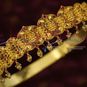 34-39 Inches Oddiyanam One Gram Gold Finish Nakshi Temple Vaddanam Shop Online Traditional Jewellery