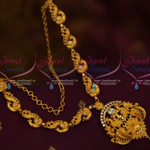 Latest Matte Fashion Jewellery Designs Low Prices AD White Stones Shop Online