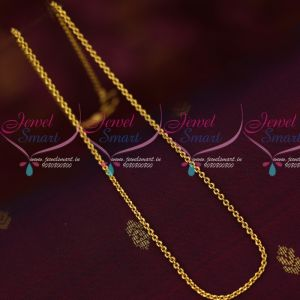 2 MM Thin Sangili Link Chain Traditional Design Daily Wear Jewelry Online