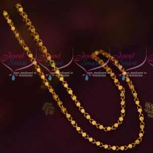 Fancy Design Matte Reddish Gold Plated 24 Inches Chains