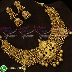 Temple Premium Bridal Jewellery Beads Design Collections Wholesale Prices