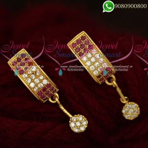 Earrings For Girls Gold Plated Imitation Jewellery Designs