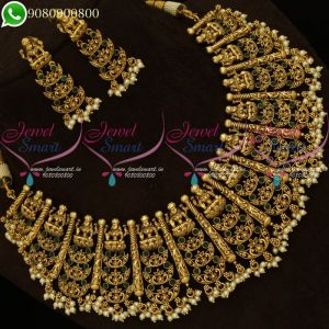 Temple Jewellery Grand Bridal Designs Latest Imitation Collections Online