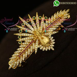Hair Clips Online Peacock Design 3D Face New Collections Online