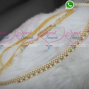 Hip Chain For Saree Stylish Jewellery Artificial Collections Online