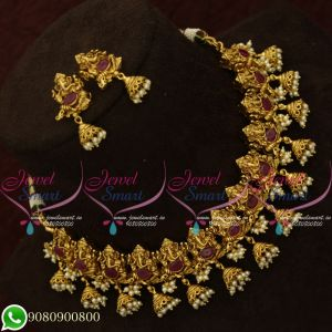 Temple Jewellery Set For Marriage Antique Bridal Designs Online