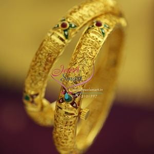 gold-plated-meenakari-screw-open-one-gram-delicate-finish-bangles-online-offer