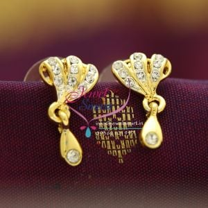 E10349 gold plated jewellery online diamond finish branded for Does gold plated jewelry fade