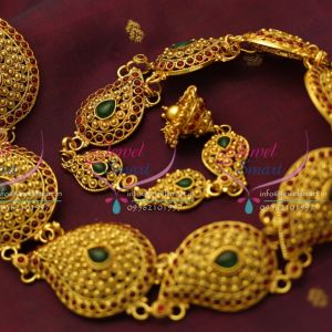 indias-favourite-online-traditional-hair-jewellery-kemp-temple-broad-design-offer-price