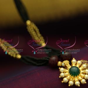 temple-spinel-ruby-kemp-mangalsutra-indian-traditional-auspicious-jewellery-online