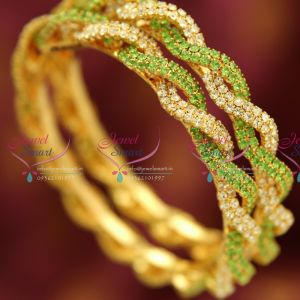 gold-plated-ruby-emerald-semi-precious-stones-bangles-matching-real-gold-jewelry-online-imitation