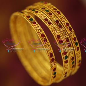 antique-gold-plated-kemp-stones-broad-fancy-bangles-low-price-buy-online