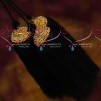 hair-jada-jadai-stone-kuppulu-long-3-strand-loose-yarn-classical-dance-wedding-jewellery