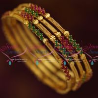 thin-ruby-emerald-semi-precious-stones-gold-plated-4-pieces-set-bangles-online