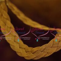 golden-string-twisted-loom-chain-necklace-flat-broad-design-fashion-jewellery