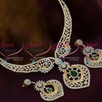 gold-silver-two-tone-plated-diamond-finish-ad-white-emerald-exclusive-necklace-set