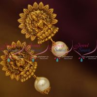 nakshi-temple-mat-finish-gold-plated-earrings-traditional-design-jewellery-online