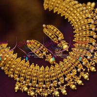 pearl-one-gram-light-antique-broad-party-wear-gold-plated-choker-necklace-shop-online