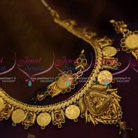 red-green-coin-kasumala-trditional-dull-gold-design-necklace-imiation-jewellery