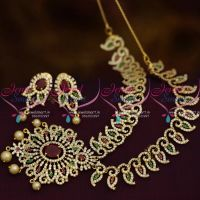ruby-green-white-mango-design-flexible-cz-imitation-jewellery-collections-online