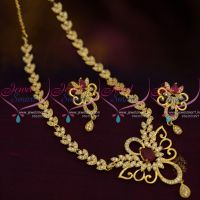 thin-simple-design-cz-short-necklace-ruby-white-gold-plated-fashion-jewellery
