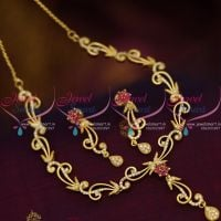 floral-casting-design-ruby-white-delicate-gold-plated-imitation-necklace-collections