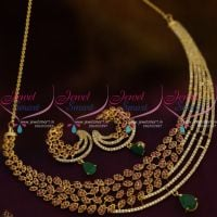 stylish-trendy-half-D-shape-fashion-short-necklace-gold-plated-fashion-jewellery