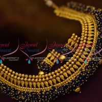 dark-blue-bead-danglers-jalar-necklace-latest-design-imitation-jewellery-collections-online