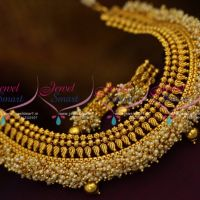 pearl-bead-danglers-jalar-necklace-latest-design-imitation-jewellery-collections-online