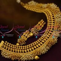 pearl-golden-bead-danglers-jalar-necklace-latest-design-imitation-jewellery-collections-online