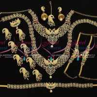 peacock-design-diamond-finish-full-bridal-jewellery-set-shop-online-premium-collections