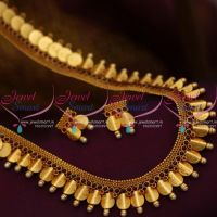 bent-coin-reddish-yellow-gold-plated-temple-coin-necklace-traditional-south-indian-collections