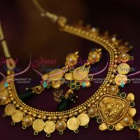 temple-coin-laxmi-coin-kasumala-green-necklace-antique-gold-plated-traditional-designs