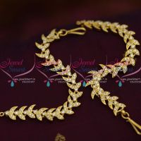 white-stones-ear-kanchain-mattal-earchains-buy-online-new-designs-traditional-jewellery