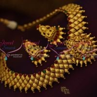 temple-matte-one-gram-gold-plated-latest-traditional-short-necklace-traditional-jewellery-collections