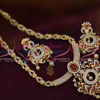 slider-cz-stone-chain-pendant-two-tone-gold-silver-plated-jewellery-shop-online