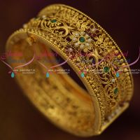broad-screw-open-kada-bangles-dull-gold-plated-handmade-jewellery-collections