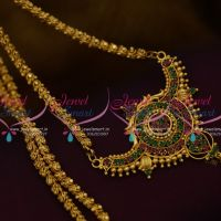 CS9732 Daily Wear Jewellery Traditional Chain Pendant Gold Plated Designs Online