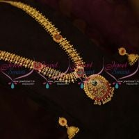 NL9837 Kemp Haram South Indian Traditional Gold Design Jewellery Collections Buy Online