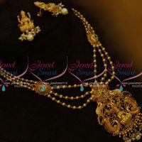 NL9760 Temple Jewellery Gold Plated Multi Strand Traditional Finish Sets Buy Online