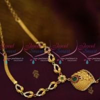 NL10008 Multi Colour AD Stones Casting Design Low Price Gold Plated Jewellery Online