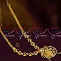 NL10013 White AD Stones Casting Design Gold Finish Offer Price Fashion Jewellery Online